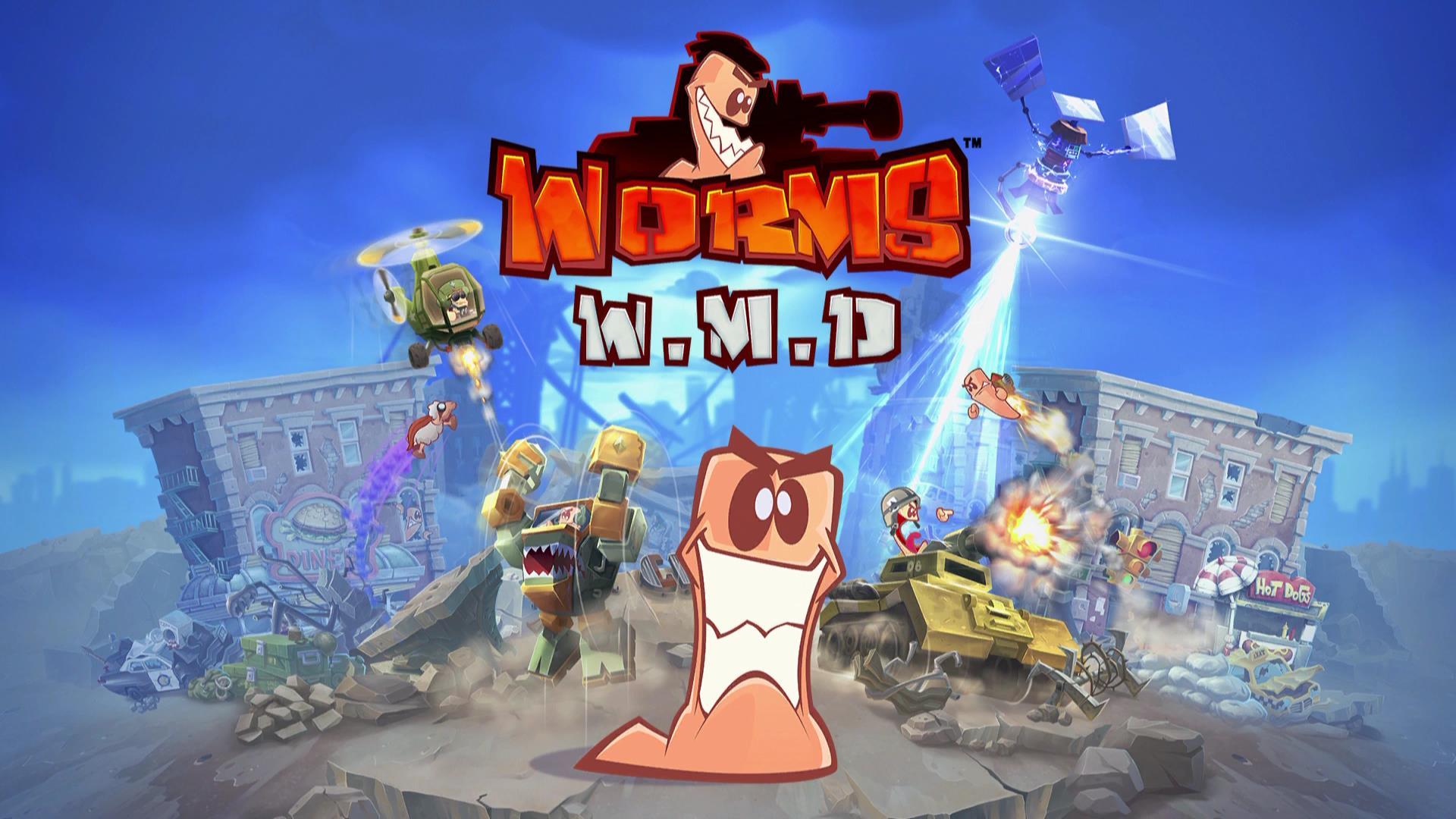 Картинки по запросу Worms W.M.D.