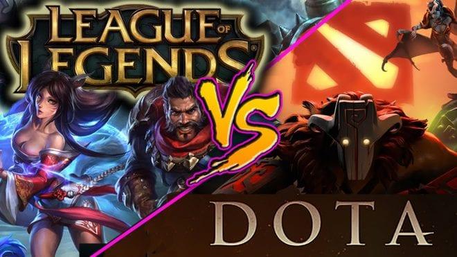 League of Legends/DotA 2