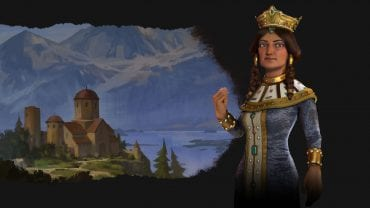 Civilization 6 Rise and Fall Tamar-led Georgia