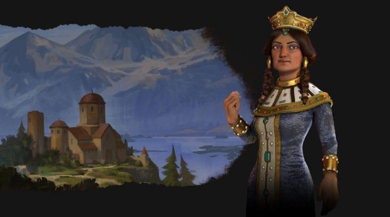 Civilization 6 Rise and Fall Tamar-led Georgia