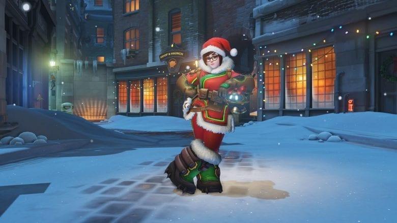 С Новым Годом от разработчиков Overwatch!