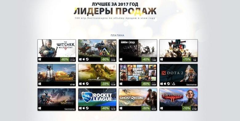 top bestsellers game of 2017