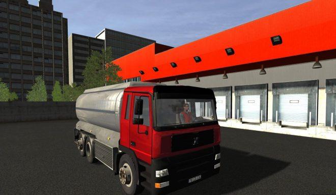 Tankwagen-Simulator