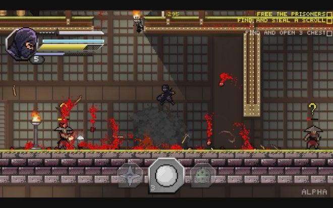 Pixel Shinobi: Nine demons of Mamoru