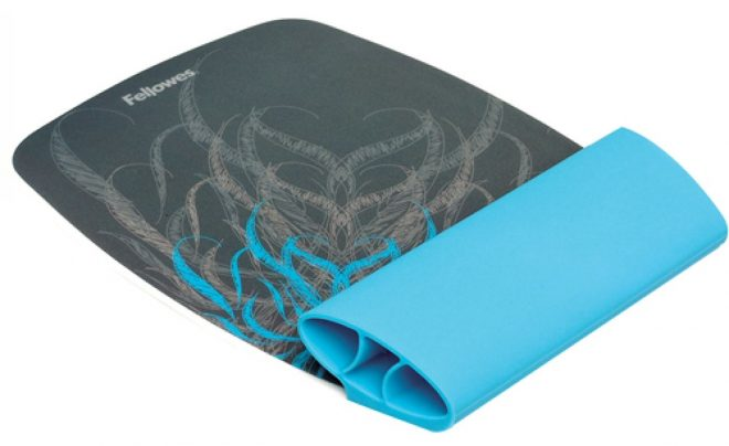 Fellowes Silicone Wrist Rocker and Mouse Pad