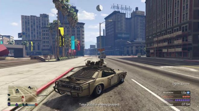GTA Online: Motor Wars