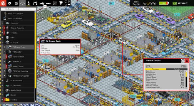 Production Line : Car factory simulation