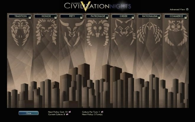 Civilization Nights