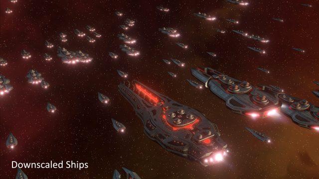 Stellaris Downscaled Ships