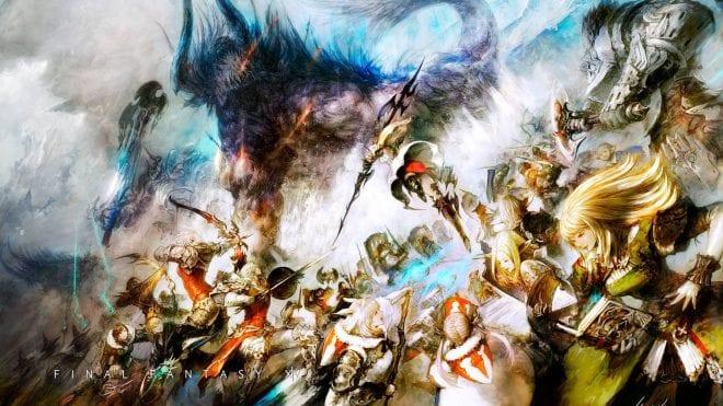 Картинки по запросу Final Fantasy XIV Online: A Realm Reborn art