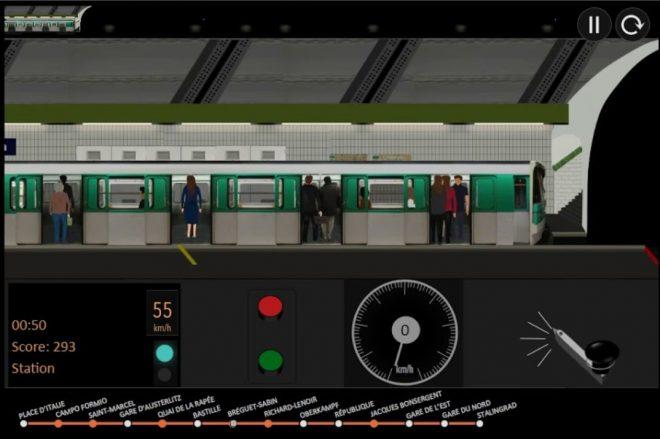 Paris Metro Simulator