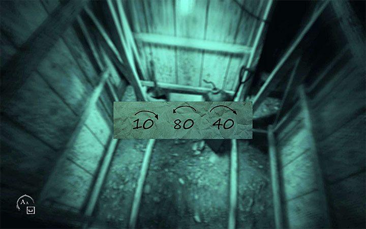 Po wyjściu z tunelu zacznij od udania się w prawo - Zagadka z sejfem   Rozwiązanie zagadki w Layers of Fear 2 - Layers of Fear 2 - poradnik do gry