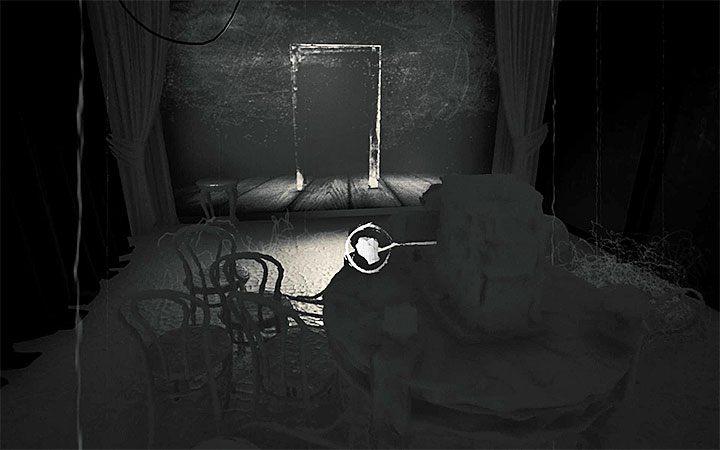 Вторая часть головоломки о выводе двери на экран - Вторая загадка с проектором   Решение загадки в Layers of Fear 2 - Layers of Fear 2 - Руководство по игре