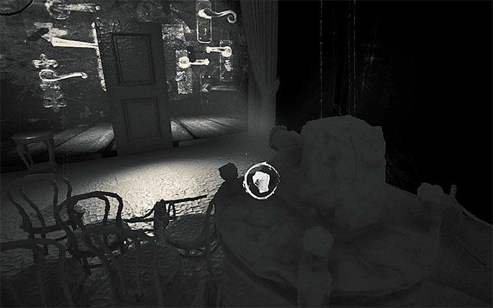 Клетка с дверными ручками (рисунок выше) - Вторая загадка с проектором   Решение загадки в Layers of Fear 2 - Layers of Fear 2 - Руководство по игре