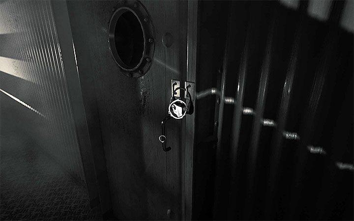 На закрытую дверь с замком вы придете вскоре после разгадывания второй загадки с проектором - Вторая загадка с замком   Решение загадки в Layers of Fear 2 - Layers of Fear 2 - Руководство по игре