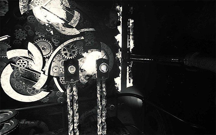 Правые рычаги используются для поворота шестеренок, чтобы соответствовать им - головоломка с шестернями   Решение загадки в Layers of Fear 2 - Layers of Fear 2 - Руководство по игре