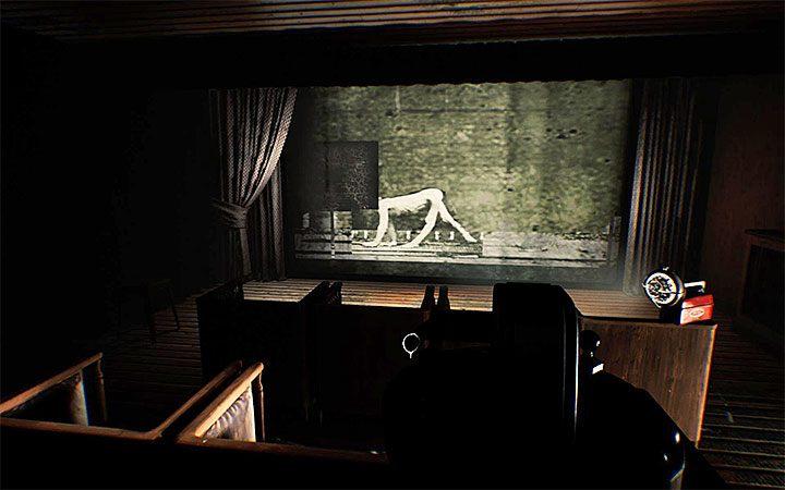 Найдите рамку с видимым прямоугольником (рисунок выше) - Третья загадка с проектором   Решение загадки в Layers of Fear 2 - Layers of Fear 2 - Руководство по игре