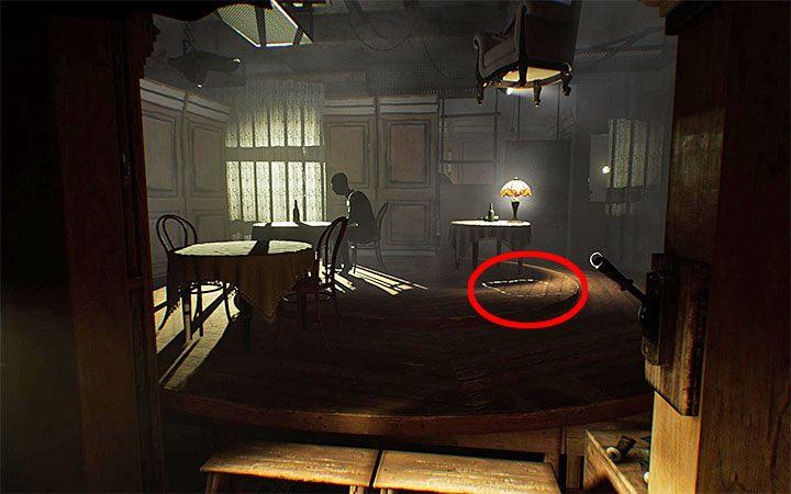 Решение загадки со стулом понадобится после достижения кафе-зала - загадка с подвесным креслом Решение загадки в Layers of Fear 2 - Layers of Fear 2 - Руководство по игре