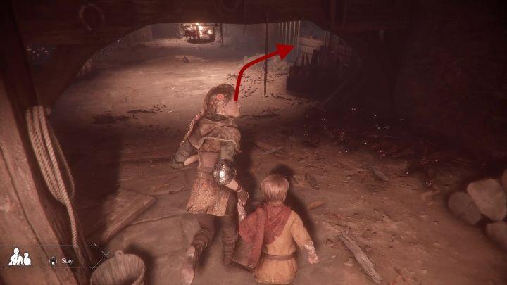 Вы найдете пальто крестоносца в месте, где Хьюго застрял один на вершине лестницы - курьезы Секреты в игре Чумная история невинности - Чумная история невинности - Руководство по игре и прохождение игры