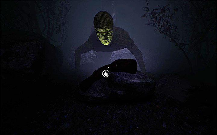 Осмотрите левый проход и после просмотра короткой сцены с манекеном поднимите конечность - Загадка с котлом   Решение загадки в Layers of Fear 2 - Layers of Fear 2 - Руководство по игре