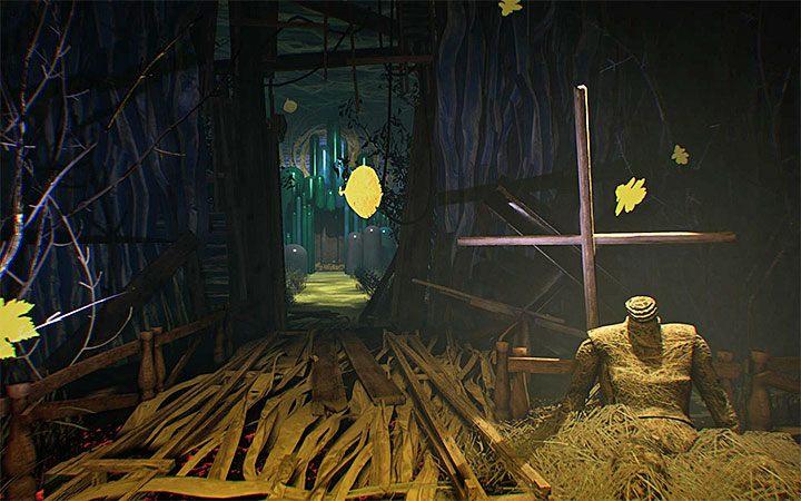 В месте с манекеном, сидящим рядом с крестом, был открыт новый проход - головоломка с котлом Решение загадки в Layers of Fear 2 - Layers of Fear 2 - Руководство по игре