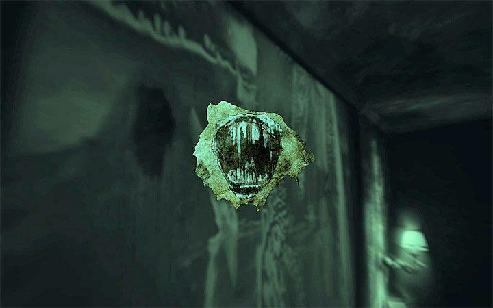 Подойдите к изображению и снимите листок бумаги - Головоломка в спальне Решение загадки в Layers of Fear 2 - Layers of Fear 2 - Руководство по игре
