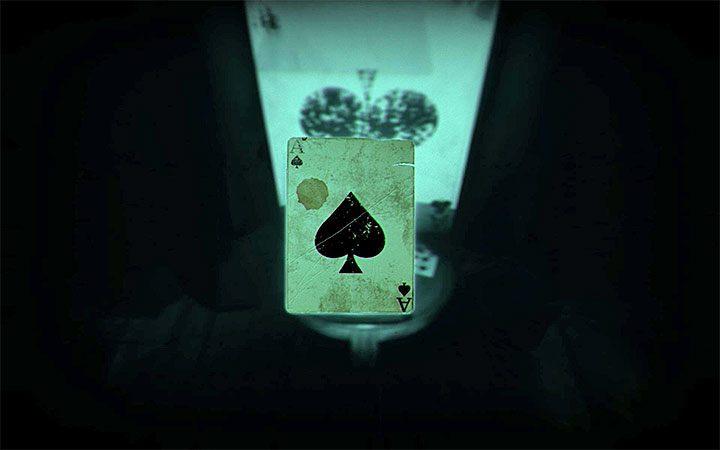 В новой версии спальни подойдите к карточному домику и пообщайтесь с ним, чтобы получить карту (туз) - Головоломка в спальне   Решение загадки в Layers of Fear 2 - Layers of Fear 2 - Руководство по игре