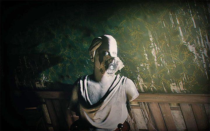 Вернитесь к статуе женщины и пообщайтесь с ним, чтобы вернуться в прежнее измерение - Головоломка в спальне   Решение загадки в Layers of Fear 2 - Layers of Fear 2 - Руководство по игре