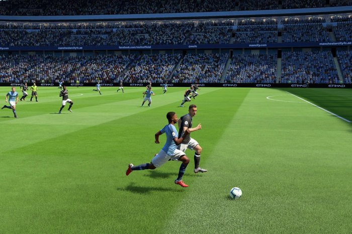 Raheem Sterling in FIFA 19