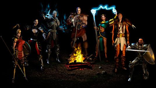 Картинки по запросу персонаж игры Diablo