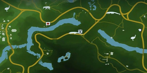 There are various species of animals in various points of the map - Hunting - Far Cry 3 - Game Guide and Walkthrough