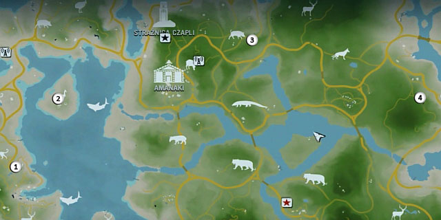 1 - Северный остров - Западная часть - Письма потерянных - Far Cry 3 - Руководство по игре и прохождение игры