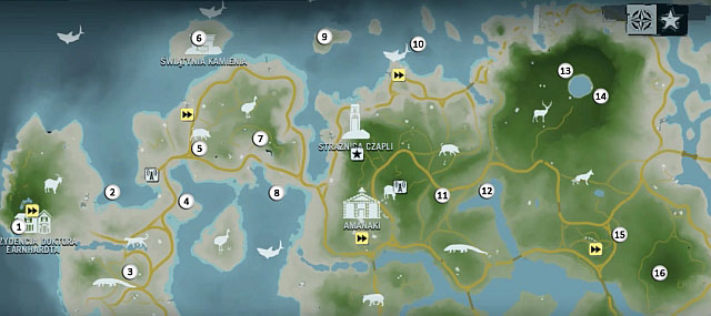 1 - Северный остров - Северо-западная часть - Культовые объекты - Far Cry 3 - Руководство по игре и прохождение игры