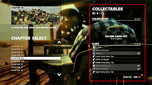 Collectables in the Max Payne 3 can be divided on three categories - Initial information - Collectibles - Max Payne 3 - Game Guide and Walkthrough