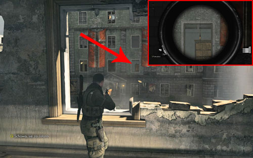 After crossing the street (with the main target killed) and going up the stairs, look at the opposite building - through one of the windows you should be able to see a cupboard, with the bottle on it - Prologue   Wine Bottles and Gold Bars - Wine Bottles and Gold Bars - Sniper Elite V2 Game Guide & Walkthrough
