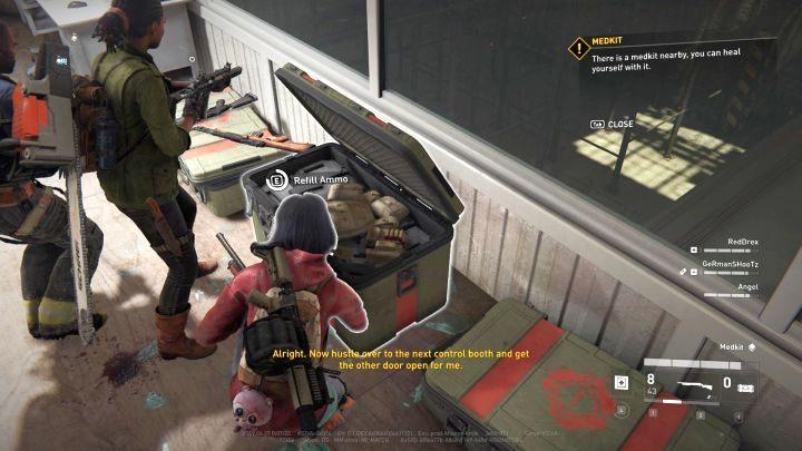 Боеприпасы можно пополнять, используя специальные коробки, подобные этой. - Советы для World War Z - Основы геймплея - World War Z Guide