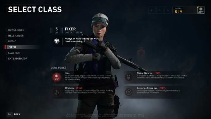 The Fixer is one of the two support classes - along with the Medic - of iWorld War Z/i. - Fixer | Character classes in World War Z - Character classes - World War Z Guide
