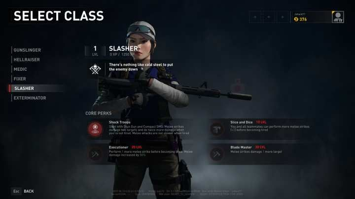 The Slasher is the melee specialist of iWorld War Z/i. - Slasher | Character classes in World War Z - Character classes - World War Z Guide