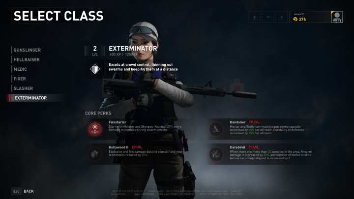 The Exterminator is the crowd control specialist of the team in iWorld War Z/i. - Exterminator | Character classes in World War Z - Character classes - World War Z Guide