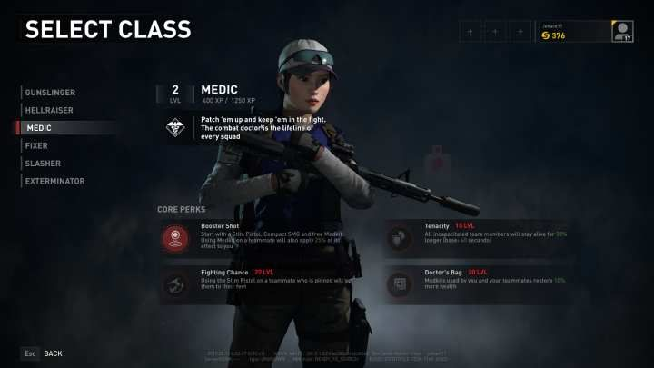 The Medic is one of the two support classes - along with the Fixer - of iWorld War Z/i. - Medic | Character classes in World War Z - Character classes - World War Z Guide