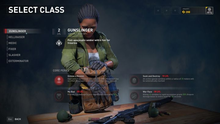 The Gunslinger is a firearms specialist, but also a valuable support class. - Gunslinger   Character classes in World War Z - Character classes - World War Z Guide