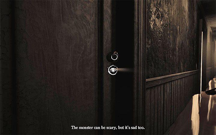 Идите к левой двери и посмотрите через замочную скважину - Загадка с горшком и тенями Решение загадки в Layers of Fear 2 - Layers of Fear 2 - Руководство по игре