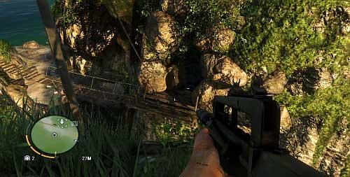 Вы окажетесь перед линией молнии, простирающейся до входа в пещеру - Северный остров - Юго-западная часть - Объекты культа - Far Cry 3 - Руководство по игре и прохождение игры