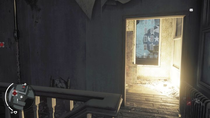 Get through the stairs to the first floor and go to the bathroom - Ashgate - Yellow zone | Key Points - Key Points - Homefront: The Revolution Game Guide & Walkthrough