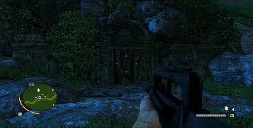 Двигайтесь по дороге до места, обозначенного номером 11 - Северный остров - Юго-западная часть - Объекты культа - Far Cry 3 - Руководство по игре и прохождение игры