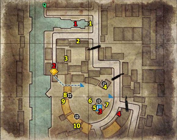 1 - Mission 8   Wine Bottles and Gold Bars - Wine Bottles and Gold Bars - Sniper Elite V2 Game Guide & Walkthrough