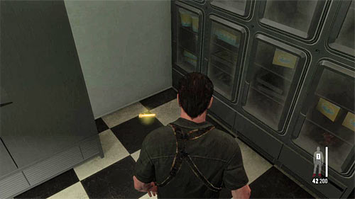 SECRET 3 [Golden Gun - Super Sport 1/3]: In small freezer at the back of the kitchen - Clues and Golden Guns - Chapter XI - Collectibles - Max Payne 3 - Game Guide and Walkthrough