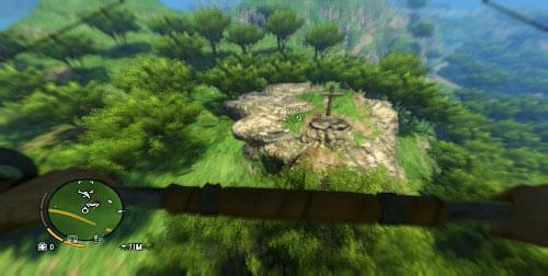 Вам нужно взять дельтаплан, чтобы добраться до вершины холма - Северный остров - Южная часть - Объекты культа - Far Cry 3 - Руководство по игре и прохождение игры