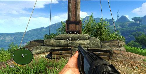 Статуэтка у подножия креста - Северный остров - Южная часть - Объекты культа - Far Cry 3 - Руководство по игре и прохождение игры