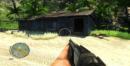 Войдите в дом рядом с пляжем, показанным на скриншоте - Северный остров - Южная часть - Культовые объекты - Far Cry 3 - Руководство по игре и прохождение игры